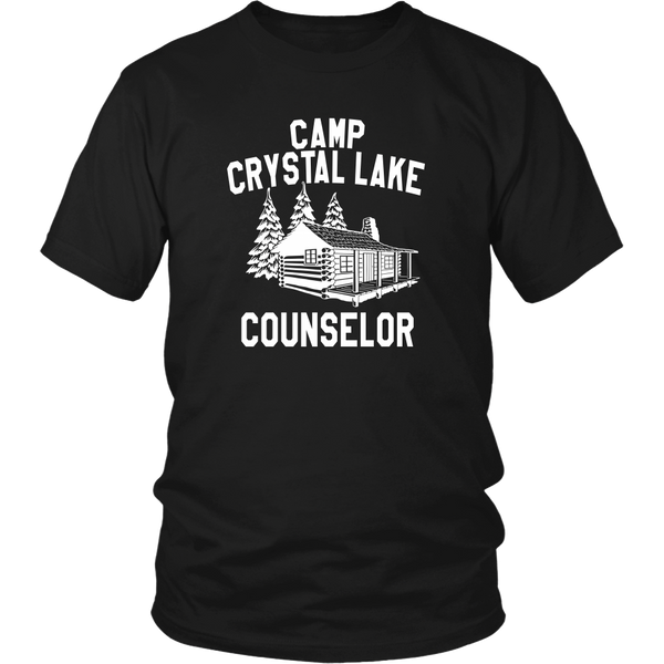 Camp Crystal Lake Counselor Unisex T-Shirt - Friday The 13th