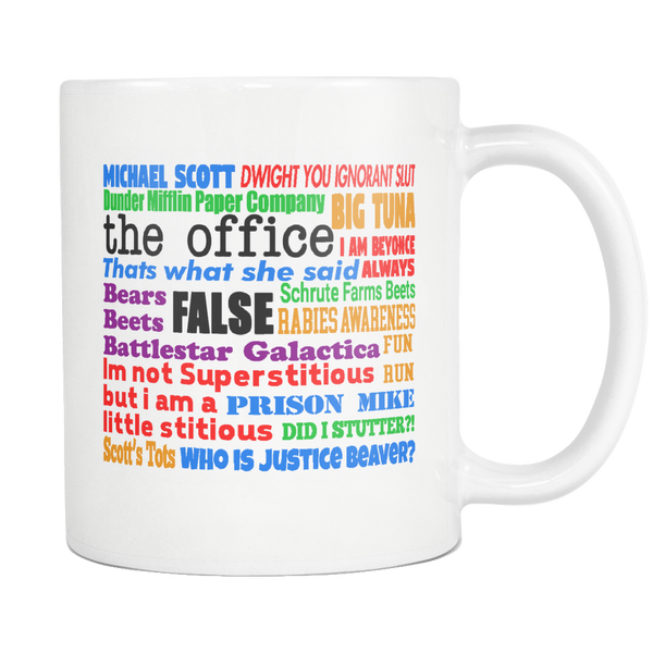 The Office Quotes 11 oz Mug