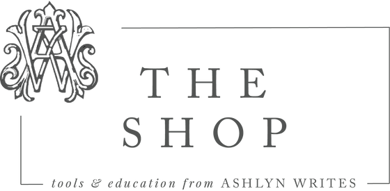 The Ashlyn Writes Shop