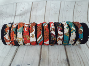 Mock Versace Print Headbands