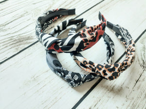 Animal Jungle Party Print Headbands