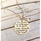 Best friends necklace - The Nomadic Attic