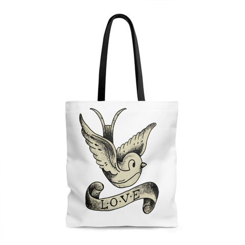 I Swallowed Love Tote Bag - The Nomadic Attic