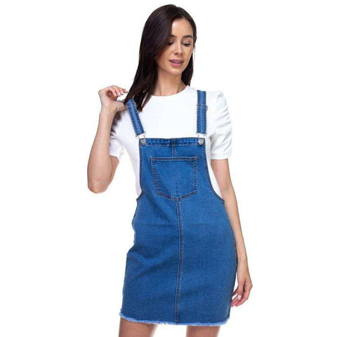 [the_nomadic_attic]:Mini Denim Overalls