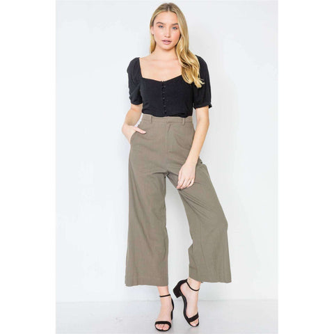 [the_nomadic_attic]:High-waist Wide Leg Pants