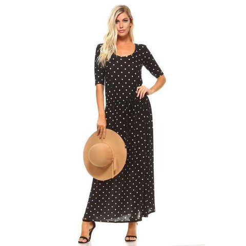 [the_nomadic_attic]:Women's Printed Hatchi Maxi Dress