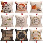Give Thanks Pillow Covers - The Nomadic Attic