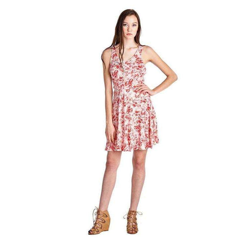 [the_nomadic_attic]:Women's Printed Jersey Dress