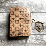 Another Adventure Blonde Handmade Leather Journal - The Nomadic Attic