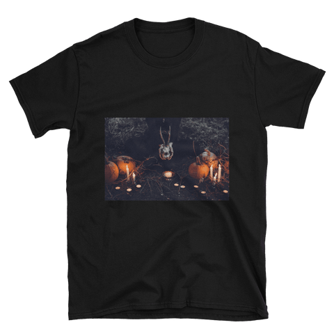 [the_nomadic_attic]:Something Witchy Short-Sleeve Unisex T-Shirt
