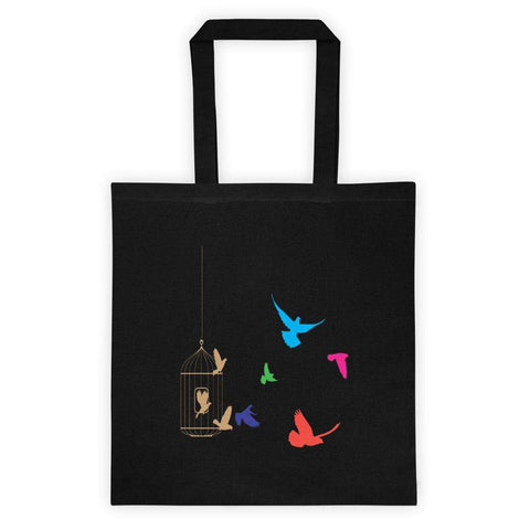 Freedom Tote bag - The Nomadic Attic