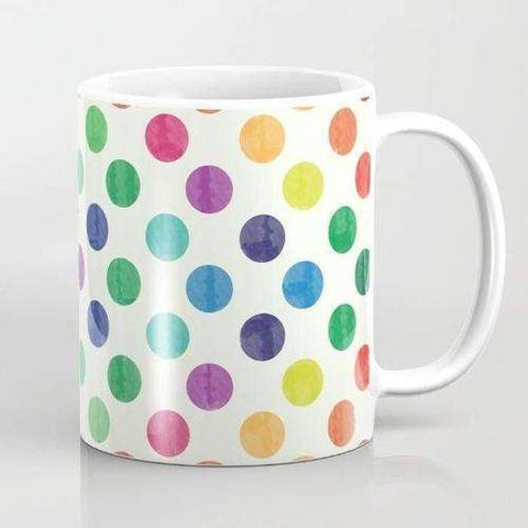 Lovely Dots Pattern III Mug - The Nomadic Attic