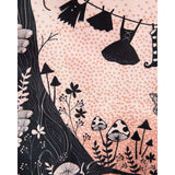 'Sinead' Pink Fairies Print Swing Dress by LindyBop - The Nomadic Attic