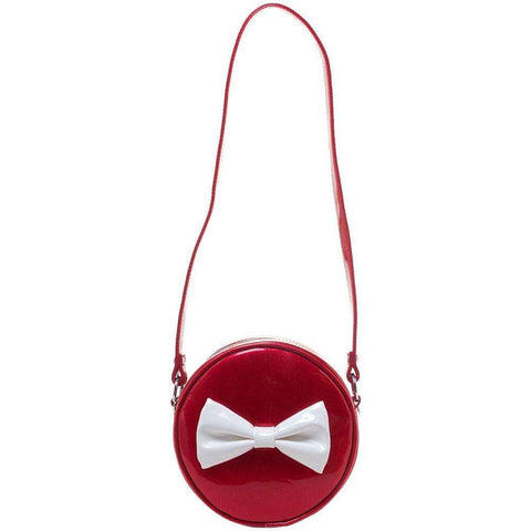 SOURPUSS SHIP SHAPE PURSE RED - The Nomadic Attic