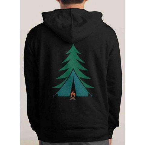 I'd rather be Camping Hoodie - The Nomadic Attic
