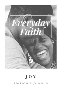 Everyday Faith Devotional JOY