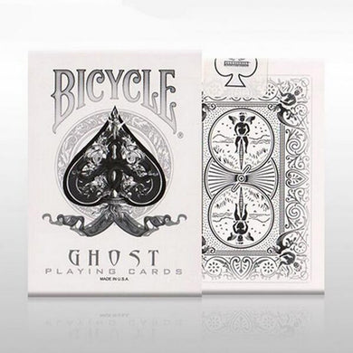 1 Deck Bicycle White Ghost  Playing Cards Magic Props Magic Magia Poker Tricks Bicycle Deck Pokers Card Magic Toy 83083