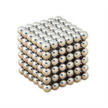 216pcs Electroplating Bucky Balls Magic Magnetic Stress Relief Balls (Silver)