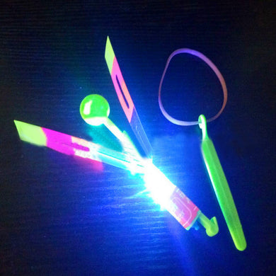 LED Light Up Flashing Dragonfly Glow  For Party Toys