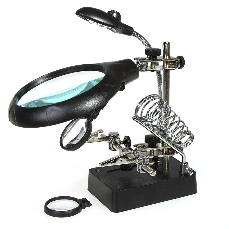 Magnifier with LED Light