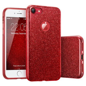red shiny case for iPhone 6 6S Plus