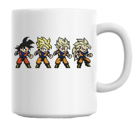 Goku Super Saiyan Coffee Mug