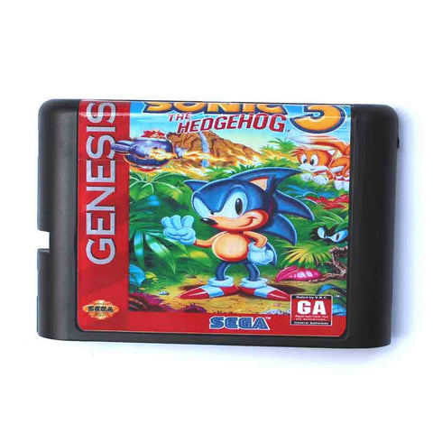 Sonic The Hedgehog 3 16 bit (rp) for SEGA Genesis