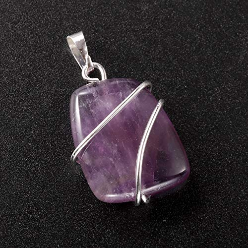 Natural Gemstone Pendant Necklace
