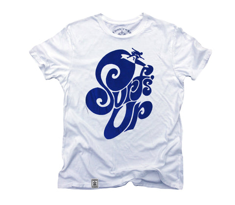 Surf's Up: Organic Fine Jersey Short Sleeve T-Shirt