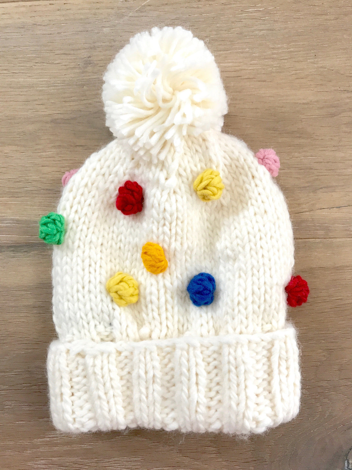 Percy Rainbow Bobble Beanie