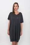 COTTON Knit Kaftan Dress