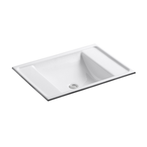 Ledges Under-Mount Metal Bathroom Sinks