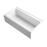 "Bellwether 60"" x 30"" Alcove Bathtub with Integral Apron and Right / Left-Hand Drain"