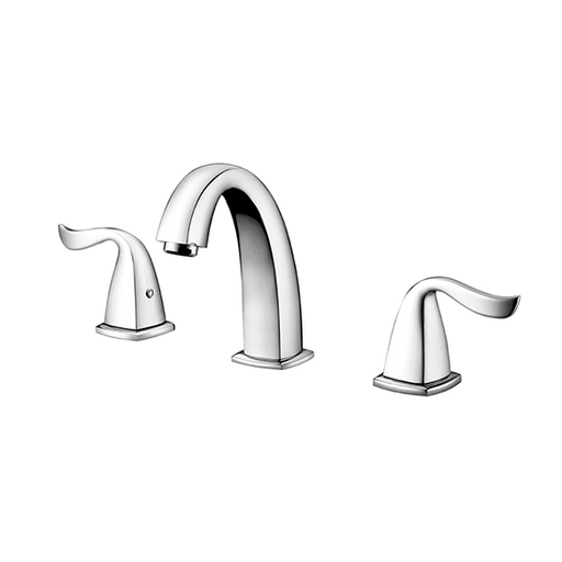 AB04 1272 Lever-Handle Widespread Lavatory Faucet