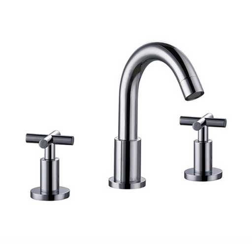 AB03 1513 Cross-Handle Widespread Lavatory Faucet