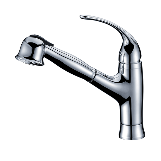 AB50 3708 Single-Handle Pull-Out Spray Kitchen Faucet