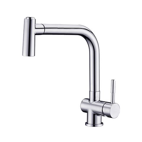 AB50 3670 Single-Handle Pull-Out Spray Sink Mixer