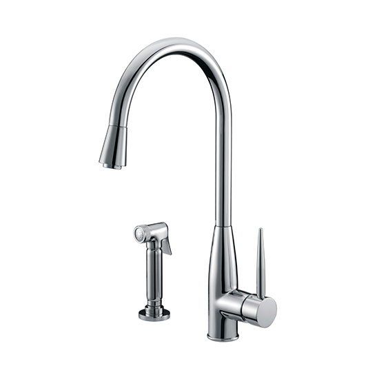 Dawn Ab50 3178 Single Handle Kitchen Faucet With Side Spray