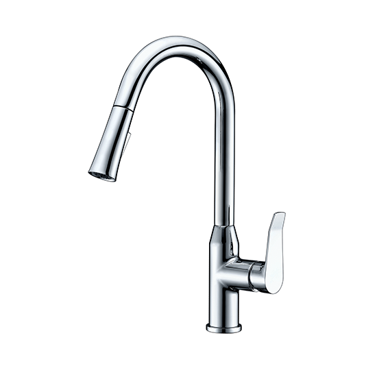 AB53 3498 Single-Handle Pull-Down Spray Kitchen Faucet