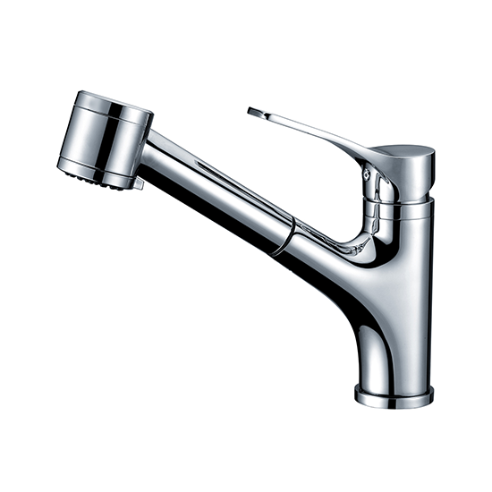 AB50 3709 Single-Handle Pull-Out Spray Kitchen Faucet