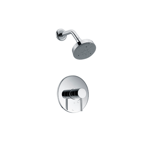 Pinnacles Wall-Mounted Shower Head with Trim