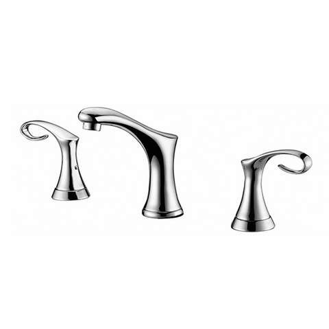 AB06 1291 Double-Handle Widespread Lavatory Faucet