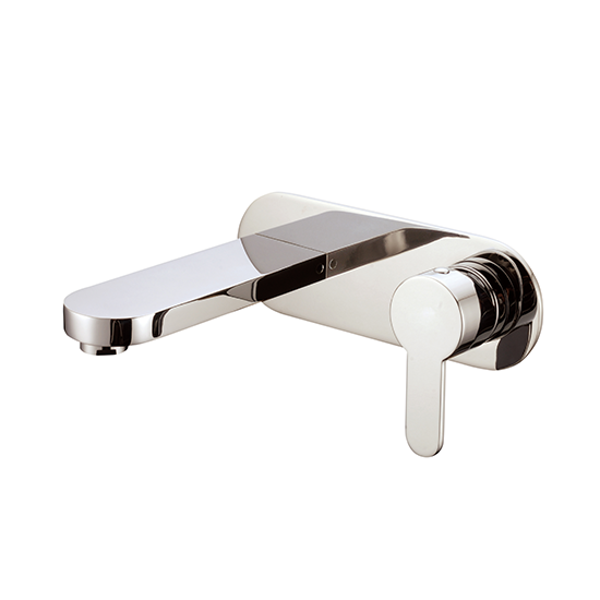 AB67 1809 Wall-Mount Single-Handle Concealed Washbasin Mixer Lavatory Faucet