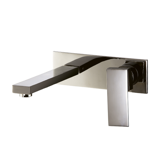 AB75 1368 Wall-Mount Single-Handle Concealed Washbasin Mixer Lavatory Faucet