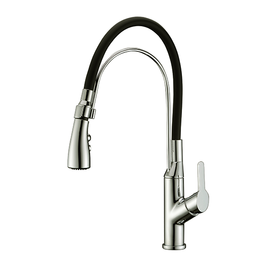 AB50 3729 Single-Handle Pull-Out Kitchen Faucet