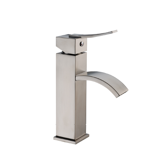 AB78 1258 Single-Handle Square Lavatory Faucet