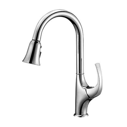 AB04 3277 Single-Handle Pull-Out Spray Kitchen Faucet