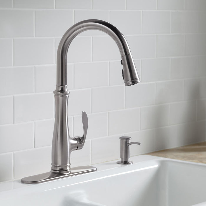 Bellera Pull-Down Sprayer Single-Handle Kitchen Faucet