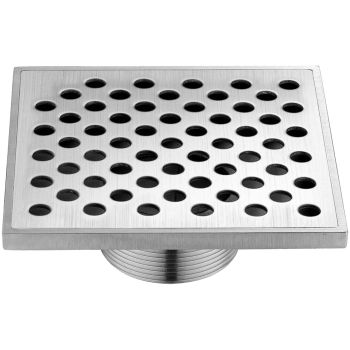 Rhone River Series Square Shower Drain 5L (Threaded)