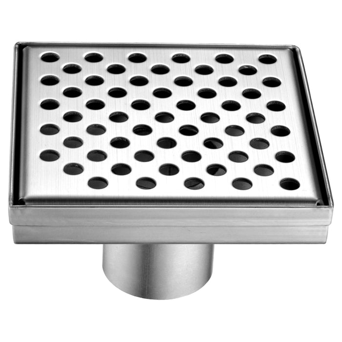 Rhone River Series Square Shower Drain 5L x 5W